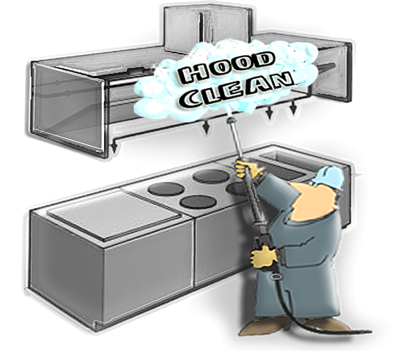 Restaurant Kitchen Hood commercial hood, vent & duct cleaning, chesapeake, va hampton roads